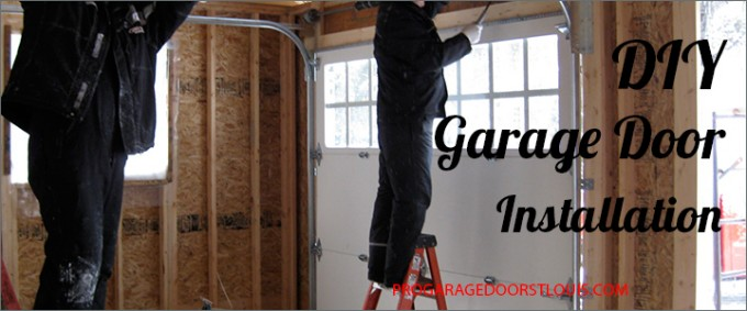 Diy Garage Door Installation St Louis Garage Door Pros